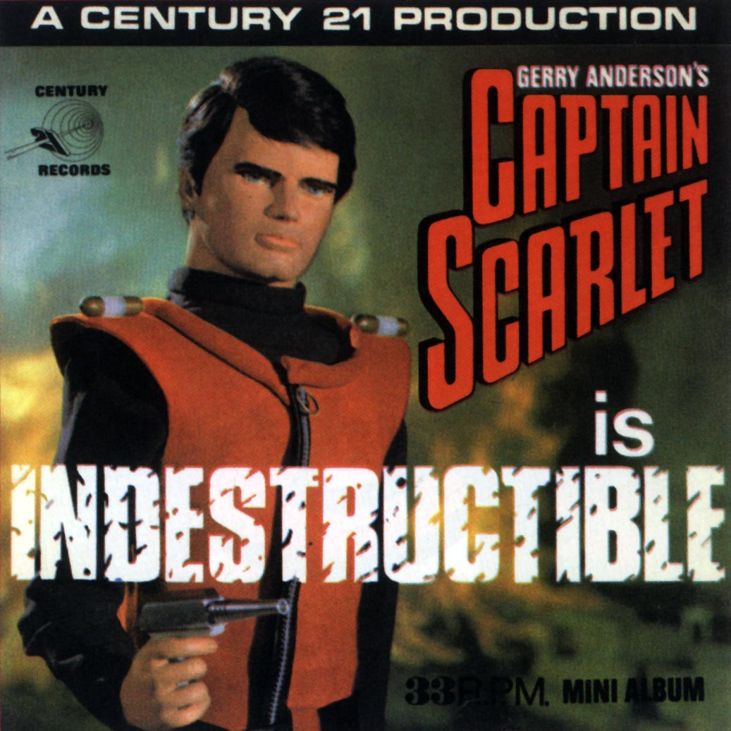 Image result for captain scarlet is indestructible