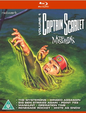 Captain Scarlet and the Mysterons Blu-Ray