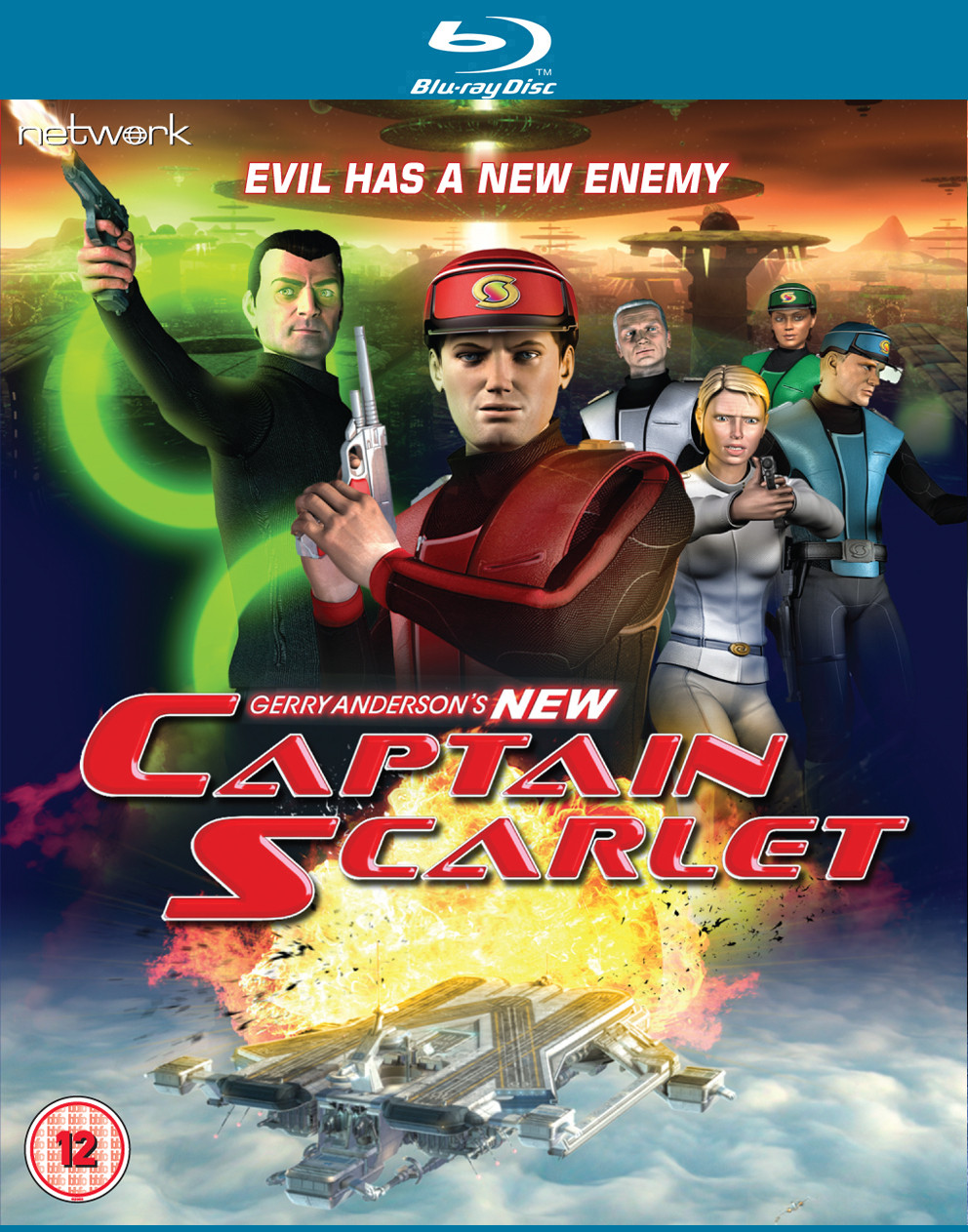 New Captain Scarlet Blu-Ray